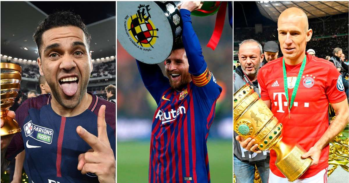 The 5 Soccer Players with the Most Major Honours