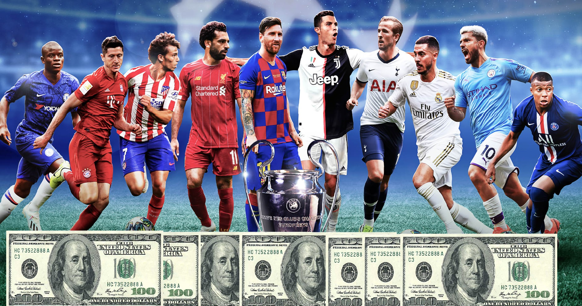 Do you know all the world's richest soccer players? (quiz)